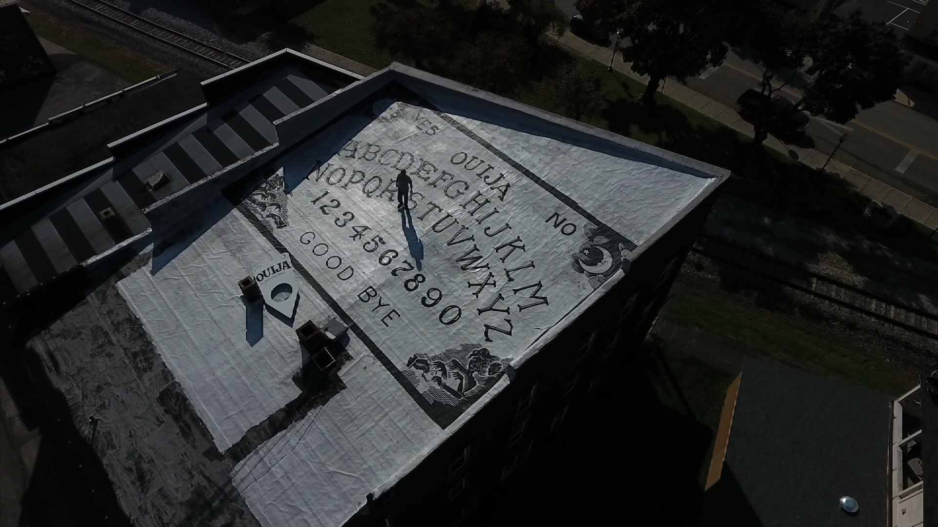 the ouija roof
